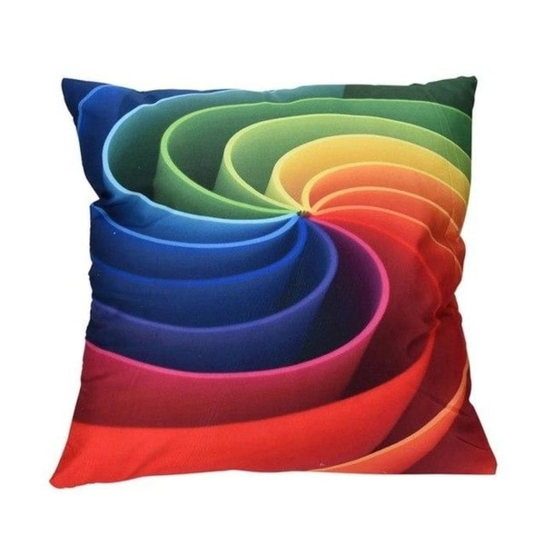Polyester Printed Cushion Cover Gold Printed Pillow Cover 13515061-70