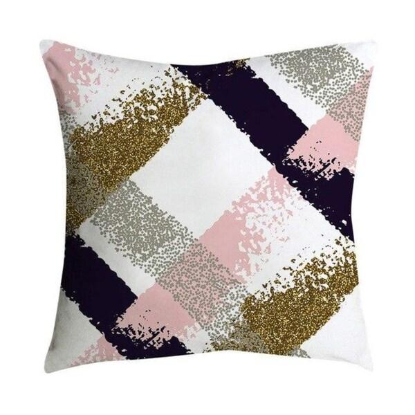 Pillowcases Pink small fresh printing square pillowcase 21302367-555