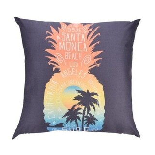 Pineapple pattern print Polyester Sofa Car Cushion Cover 21305063-827