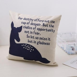 Cute Bear Cotton Linen Decorative Pillow Case 21305955-845