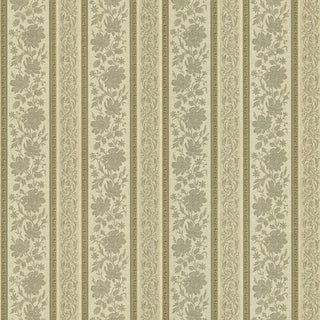 Consuela Platinum Damask Wallpaper