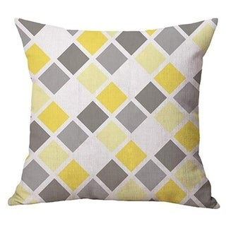 Geometry Simple Cafe Sofa Waist Throw Cushion Cover 21301988-518