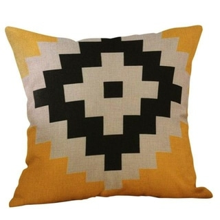 Yellow Geometric Fall Autumn Decorative Pillowcases 21303099-646