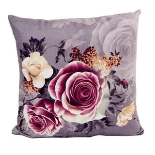 Retro Flowers Sofa Bed Square Pillow Case Home Décor 21302631-590
