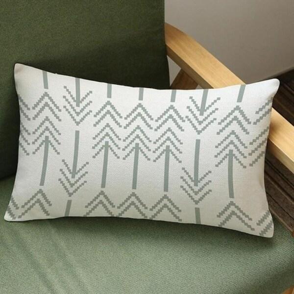 Arrow Print Cushion Cover Linen Pillowcases 16163467-142