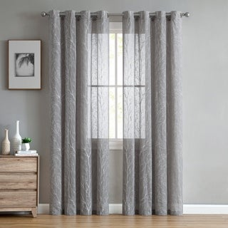 VCNY Home Daisi Trees Grommet Top Single Curtain Panel