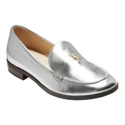 Women's Cole Haan G.Os Pinch Lobster Loafer Silver Leather