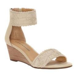 Women's Lucky Brand Joshelle Sandal Natural Macrame/Textile