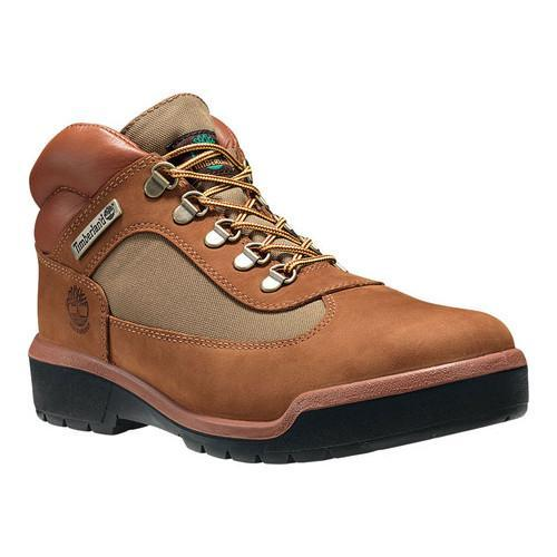 92d54d62621b Shop Men s Timberland Field Leather Fabric Waterproof Boot Sundance Old  River Nubuck - Free Shipping Today - Overstock - 21808598