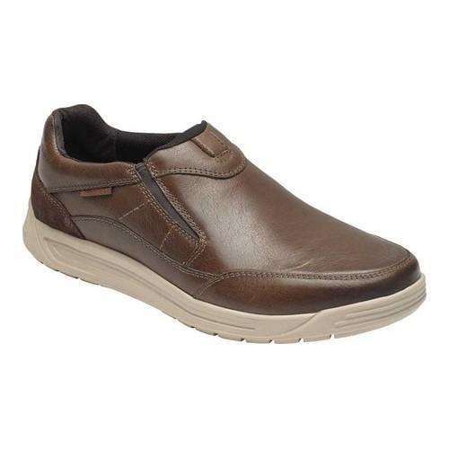 boutique des cuir hommes est rockport randle glisse sur du cuir des brun en vente libre 55ab14