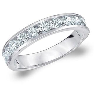 1 CT Classic Lab Grown Diamond Ring E F Color VS Clarity