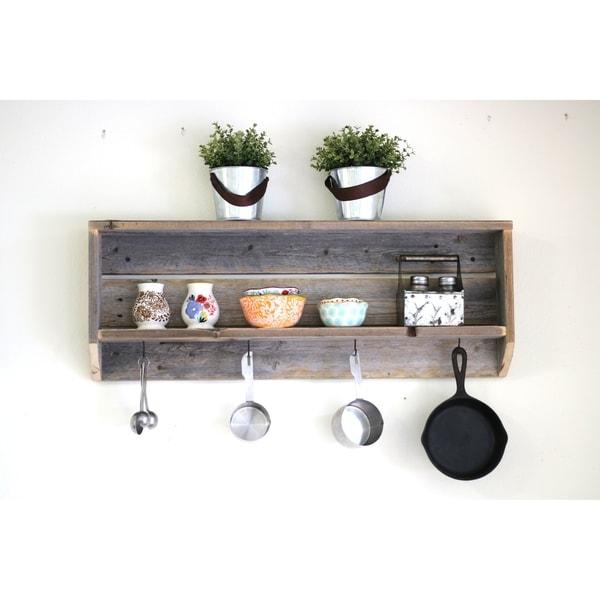 Rustic Tea Shelf
