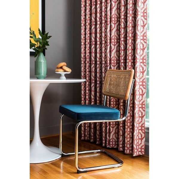 Mid Century Dining Room Chairs: Shop Norma Velvet Upholstered Mid Century Dining Room