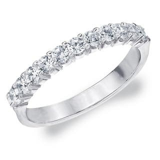 .50CT Prong Set Lab Grown Diamond Ring Sparkling, E-F Color/VS Clarity