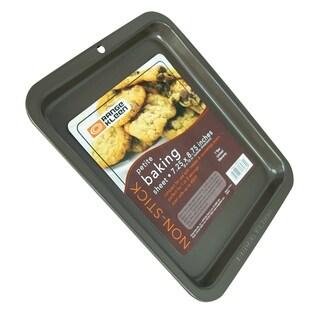 Range Kleen B24TC Non-stick Petite Cookie Sheet - outer 8x10 inch - Black