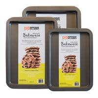 Range Kleen BW6 Non-stick Cookie Sheet Set - 3 Piece - Black