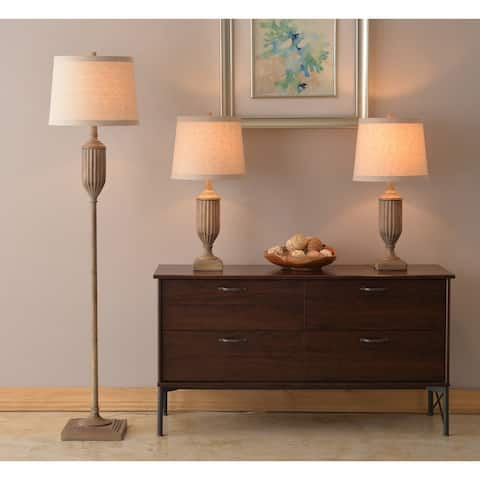 Fremont Driftwood 60 Inch 3-Pack Lamp Set