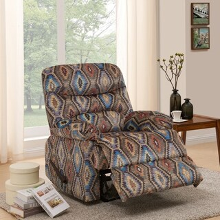 ProLounger Aztec Geometric Wall Hugger Recliner Chair