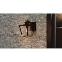 Havenside Home Cube Cove Valiant Bronze 1-light Wall Lantern