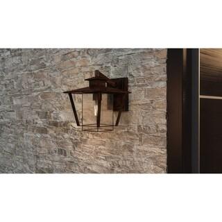Farmington Valiant Bronze 1-light Wall Lantern