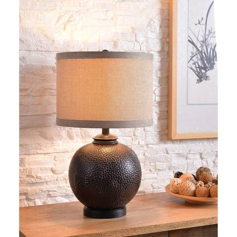 Reagan Aged Bronze 22 Inch Accent Lamp