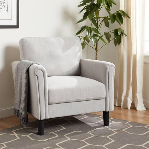 Porch & Den Coleto Fabric Arm Chair