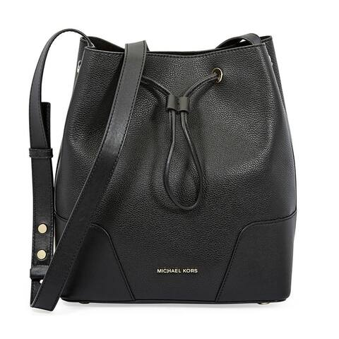 MICHAEL Michael Kors Cary Medium Leather Bucket Bag