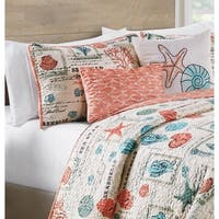 VCNY Home Sea Star Reversible Quilt Set
