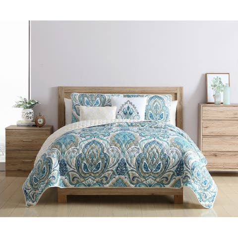 Copper Grove Cherven Reversible Quilt Set