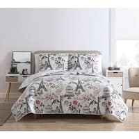 Copper Grove Glubokoye Reversible Quilt Set