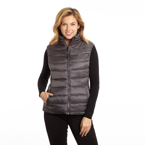 Excelled Women's Polyester Puffer Vest