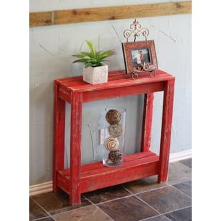 Peachy Buy Red Distressed Coffee Console Sofa End Tables Short Links Chair Design For Home Short Linksinfo