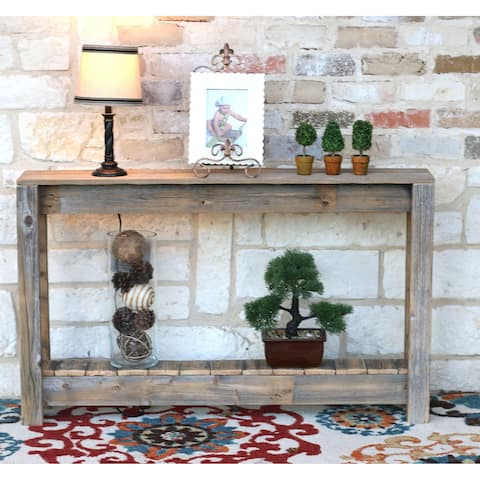 """Rustic Entry Way Table 46""""L - 46Lx8Wx28H"""