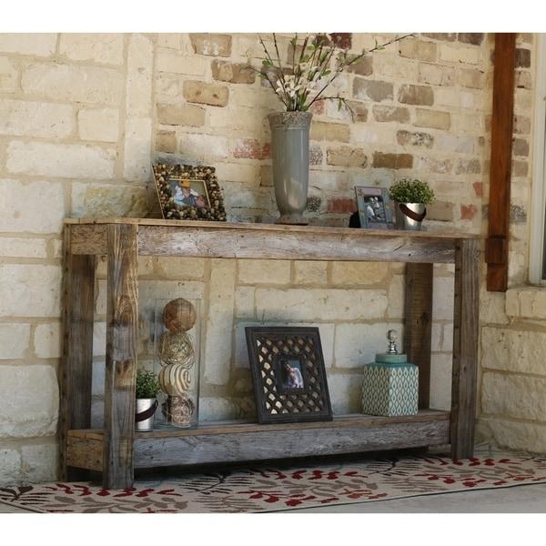 Farmhouse Sofa Table