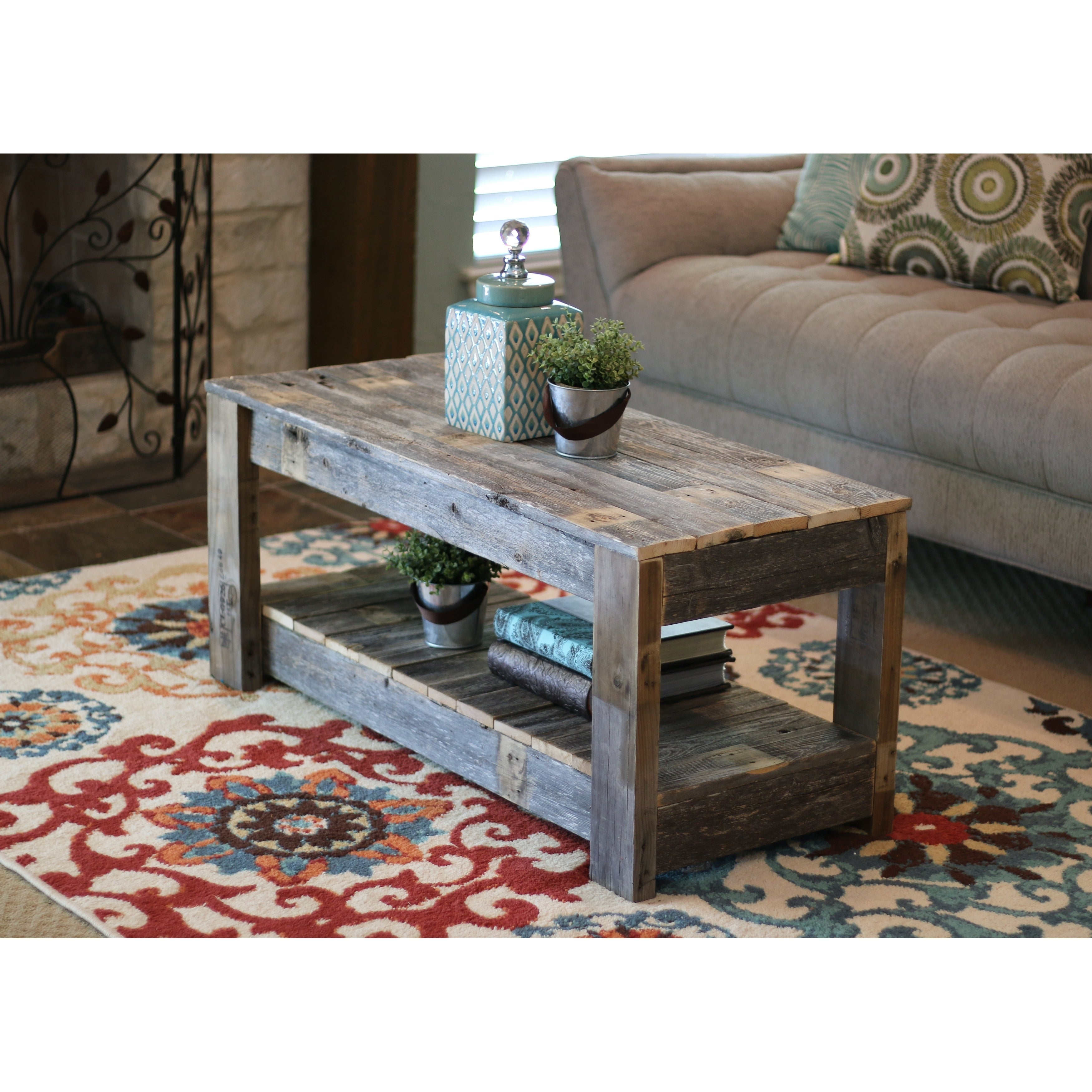 Original Farmhouse Coffee Table On Sale Overstock 25602398