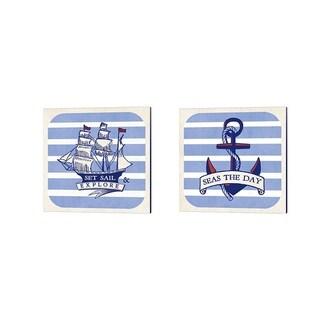 Studio Mousseau 'On the Coast' Canvas Art (Set of 2)