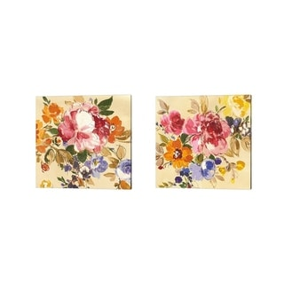 Wild Apple Portfolio 'Summer Garden' Canvas Art (Set of 2)