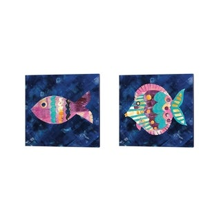Wild Apple Portfolio 'Boho Reef' Canvas Art (Set of 2)