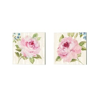 Wild Apple Portfolio 'Driftwood Garden' Canvas Art (Set of 2)