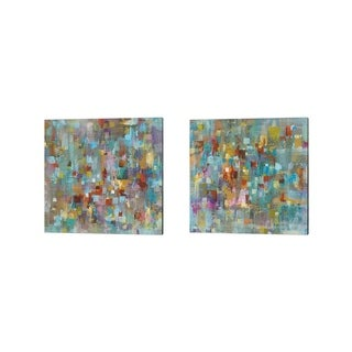 Danhui Nai 'Confetti' Canvas Art (Set of 2)