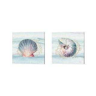 Lisa Audit 'Ocean Dream B' Canvas Art (Set of 2)