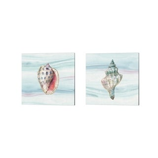 Lisa Audit 'Ocean Dream no Filigree' Canvas Art (Set of 2)