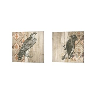 Wild Apple Portfolio 'Natural History Lodge Southwest A' Canvas Art (Set of 2)