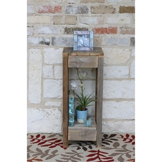 Natural Reclaimed Wood Accent Table