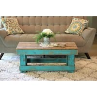 Reclaimed Wood Combo Coffee Table