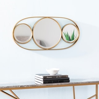 Silver Orchid Kilgour Decorative Accent Mirror - Gold