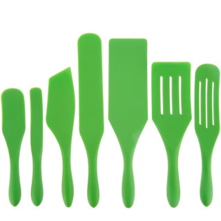 Mad Hungry 7-Piece Multi-Use Silicone Spurtle Set Spatula and Spoons