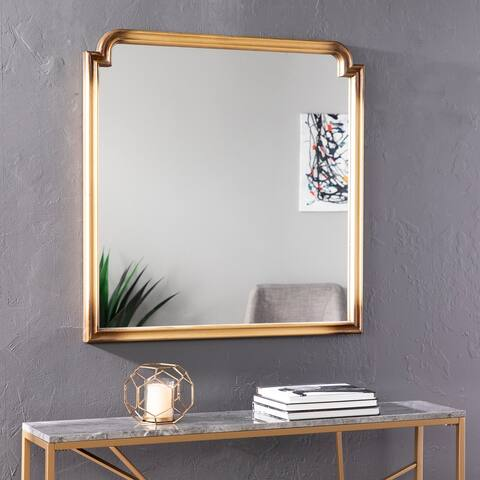 Silver Orchid Kilgour Decorative Wall Mirror - Gold