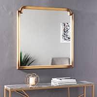 Harper Blvd Lauder Art Deco Decorative Wall Mirror - Gold
