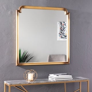 Harper Blvd Lauder Art Deco Decorative Wall Mirror - Gold
